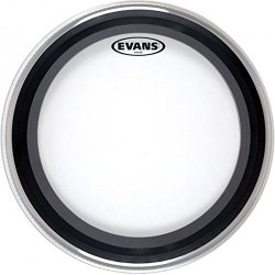 """Evans BD22GMAD GMAD 22"""" Clear Bass Drum Batter Head"""