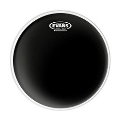 "Evans TT12CHR 12"" Black Chrome Drumhead"