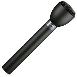 Electro Voice 635A/B Black Classic Dynamic Omnidirectional Interview Microphone