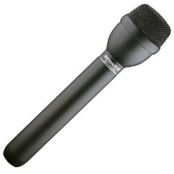 Electro Voice RE50N/D-B Black Dynamic Omnidirectional Interview Microphone with N/DYM Capsule