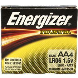 Energizer EN-91-4pack AA Industrial Battery 4 Pack