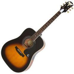 Epiphone EAPPVSCH Vintage Sunburst Pro-1 Plus 6 String RH Acoustic Guitar