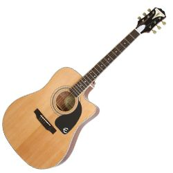 Epiphone EEPUNACH Natural Pro-1 Ultra 6 String 6 String RH Acoustic Electric Guitar