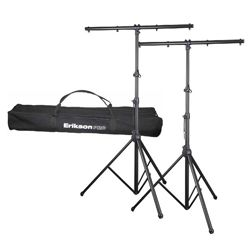 Erikson Pro LTS12-1-AC 2 Lighting Stand Kit with Carrying Bag