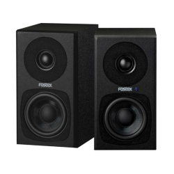 "Fostex PM0.3H-B 3"" 2-Way 30W Personal Active Speaker System-Pair in Black"