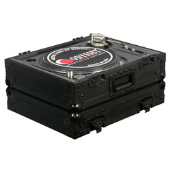 Odyssey FZ1200BL Black Label Universal Turntable Case For Technics 1200 Style DJ Turntables