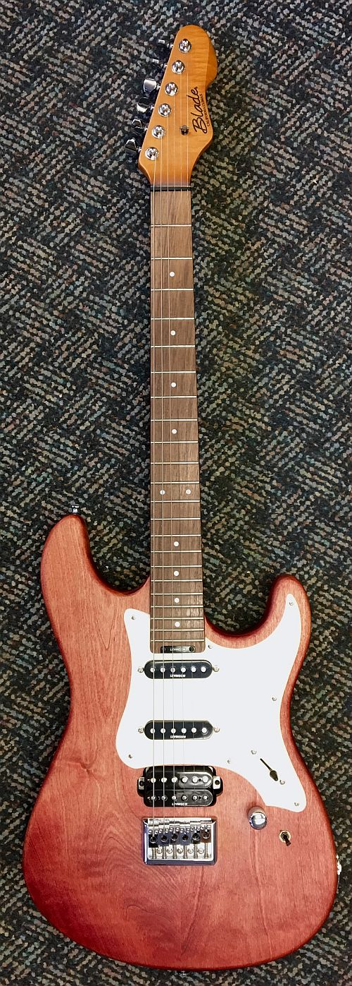 blade california climax 6 string right hand electric guitar discontinued clearance acclaim. Black Bedroom Furniture Sets. Home Design Ideas