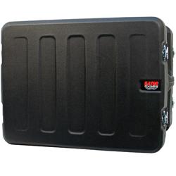"Gator G-Pro-8U-19-RR 8 Unit 19"" Deep Molded Audio Rack Case with Rear Rail"