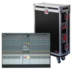 Gator G-TOUR AH2400-32 Allen & Heath G-Tour Mixer Case For 32 Channel GL2400 series