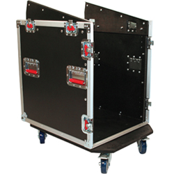 Gator G-TOUR GRC-12x12 Wood Flight Rack Case 12 Spaces Top and 12 Spaces Bottom ***Discontinued - only 3 units left***