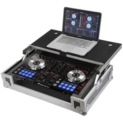 Gator G-TOUR DSPDDJSR Road Case for Pioneer DDJ-SR DJ Controller with Laptop Shelf