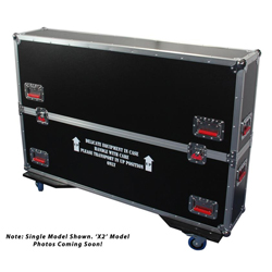 Gator G-TOURLCDV2-3743-X2 ATA LCD case for two 37 to 43 Inch screens