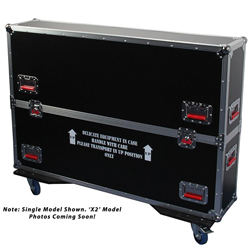 Gator G-TOURLCDV2-4350-X2 ATA LCD case for two 43 to 50 Inch screens