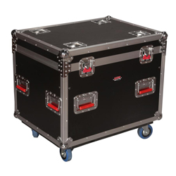 Gator G-TOUR-TRK 3022 HS Truck Pack Trunk with Casters Interior 28.25x20.75x20.75 Inches
