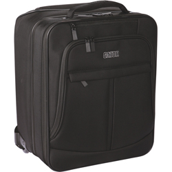 Gator GAV-LTOFFICE-W Checkpoint Friendly Laptop and Projector Bag with Wheels and Pull Handle