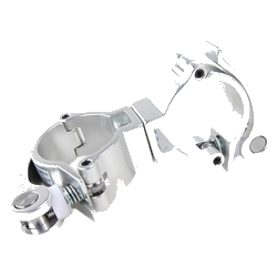 """Global Truss MINI-360-QR-SWIVEL Light Duty Dual Swivel Quick Release Clamp for 2"""" Pipes"""