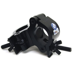 Global Truss PRO-SWIVEL-CLAMP-BLK Heavy Duty Dual Swivel Clamp for 50mm Tubing-Black