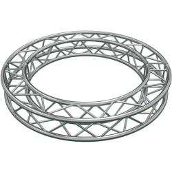 Global Truss SQ-C10-30 Circular Segment for F34 Square Truss System (32.08'-10 m)-12 x 30 Degree Arcs
