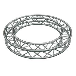 Global Truss SQ-C2-90 Circular Segment for F34 Square Truss System (6.56'-2.0 m)-4 x 90 Degree Arcs