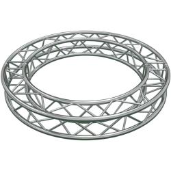 Global Truss SQ-C9-30 Circular Segment for F34 Square Truss System (29.52'-9.0 m)-12 x 30 Degree Arcs