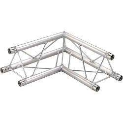 Global Truss TR96112-21 2-Way 90 Degree Corner Apex Up or Down Triangle Truss-1.64ft (0.5m)