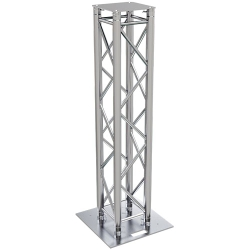 Global Truss TRUSS-TOTEM-1.5A F34 Square Truss Totem Kit with Cover-4.92' (1.5 m)