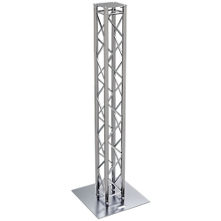 Global Truss TRUSS-TOTEM-2.5A F34 Square Truss Totem Kit with Cover-8.20' (2.5 m)