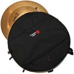 Gator MI GP-CYMBAK-22 Padded Cymbal Backpack for up to 6 22 Inch Cymbals