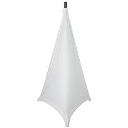 Gator GPA-STAND-2-W Stretchy Speaker Stand Cover 2 sides in White