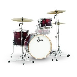 Gretsch Drums CT1-J403-SAF Catalina Club 3 Piece Drum Shell Pack, Satin Antique Fade