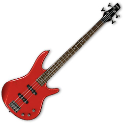 Ibanez GSR320-CA-d GIO Series 4 String Solid Body Bass in Candy Apple (discontinued clearance)