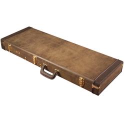 Gator MI GW-ELECT-VIN Electric Guitar Deluxe Wood Case in Vintage Brown