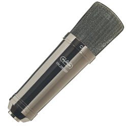 CAD Audio GXL2200BP Cardioid Condenser Microphone in Black Pearl