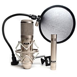 CAD Audio GXL3000SSP Multi-Pattern Condenser Microphone Stereo Studio Pack