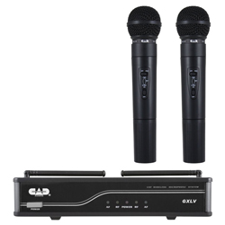 CAD Audio GXLVHHJ VHF Dual Channel Hand Held Wireless J Frequency Microphone