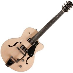Godin 046874 5th Avenue Uptown GT 6 String Semi Hollow Body Electric Guitar - Transparent Cream