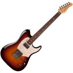 Godin 046966 Stadium 59 6 String Electric Guitar w/bag – Vintage Flame Burst MN
