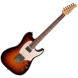 Godin 046973 Stadium 59 6 String Electric Guitar w/bag – Vintage Flame Burst RN