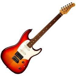 Godin 047017 Session SG RN 6 String Electric Guitar- Cherry Burst (discontinued clearance)