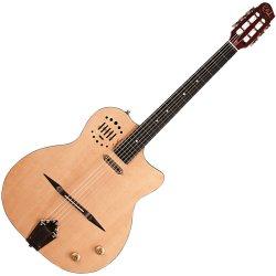 Godin 047109 Acoustic Godin MultiAc Gypsy Jazz 6 String Electric Guitar w/Case - Natural