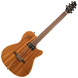 Godin 037438 A6 Ultra Koa HG Limited Edition 6 string acoustic electric guitar