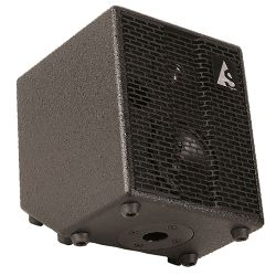 Acoustic Solutions 039111 Black ASG-75 2 Channel Acoustic Amp