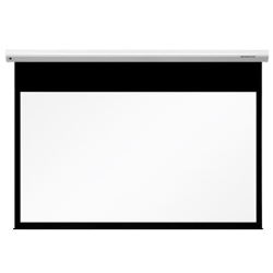 """Grandview GV-CMO092W CB-MIR 92 Integrated Cyber Motorized 92"""" Screen with White Casing 16:9 Format"""
