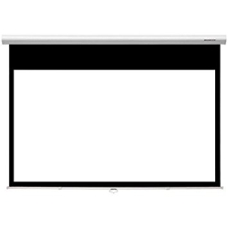 "Grandview CB-P 94 Cyber Series Commercial Designer 94"" Manual Pull-Down Screen 16:10 Format White Casing"