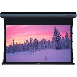 Grandview GV-TT100 LF-MIR 100 Integrated Tab-Tension Motorized Screen with Black Casing 16:9 Format