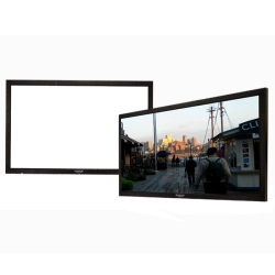 Grandview GV-PM084 LF-PU 84 Prestige Series Permanent Fixed Frame Screen 16:9 Format