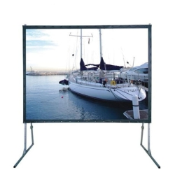 "Grandview LS-Z 150 Super Mobile Large Portable 150"" Screen Rear Projection 4:3 Format"