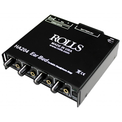 Rolls HA204P Portable Battery Operated Headphone Amp