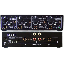 Rolls HA243 Studiophile 4 Channel Headphone Amp