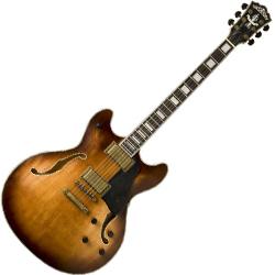 Washburn HB36K-O Hollowbody Electric Guitar in Vintage Matte